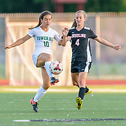 Tower Hill - Ursuline Academy in DIAA Girls Soccer quarterfinal match at Caravel Academy in Glasgow, De. Thursday, 24 May 2018. Photography by Jim Graham