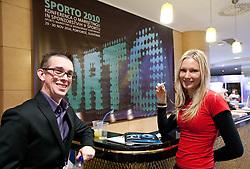 Matevz Brec during Day two of Sporto  2010 - Sports marketing and sponsorship conference, on November 30, 2010 in Hotel Slovenija, Portoroz/Portorose, Slovenia. (Photo By Vid Ponikvar / Sportida.com)