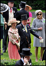 Princess Anne at Royal Ascot 20-6-12