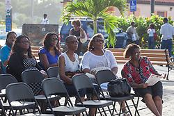 St. John Veterans Day Parade in Cruz Bay.  Frank Powell Park.  St. John, USVI.  8 November 2015.  © Aisha-Zakiya Boyd