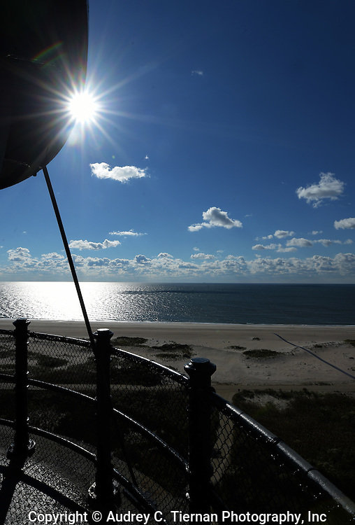 Babylon, NY,  October 25, 2016: ---  A view of the Great South Bay from the gallery of  the Fire Island Lighthouse    © Audrey C. Tiernan