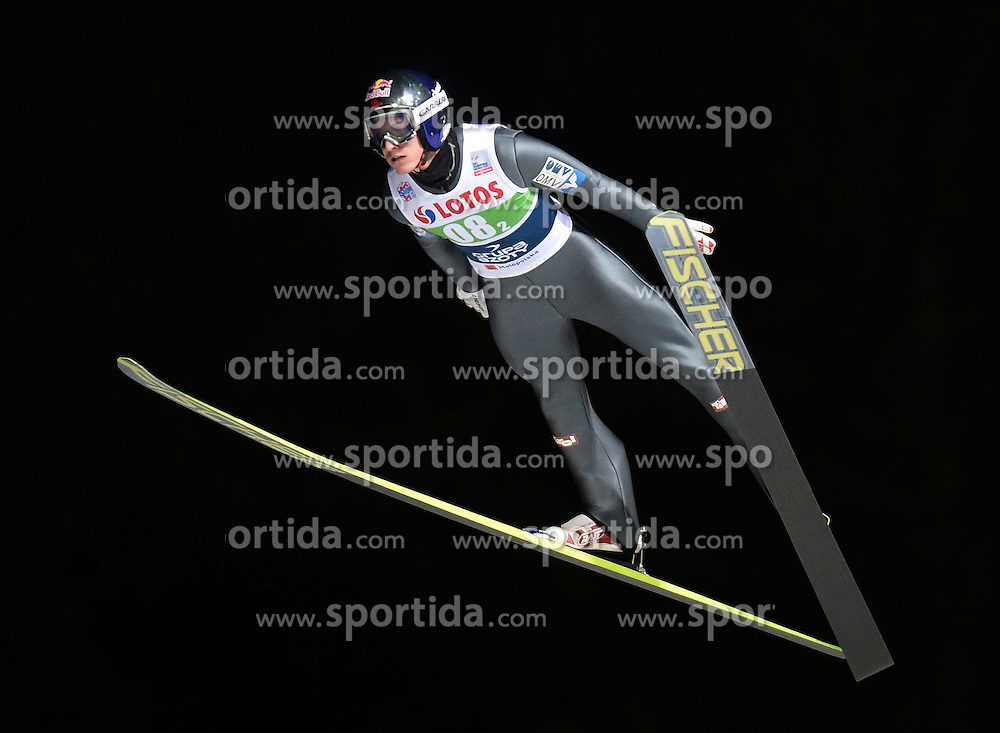 17.01.2015, Wielka Krokiew, Zakopane, POL, FIS Weltcup Ski Sprung, Zakopane, Herren, Teamspringen, im Bild Gregor Schlierenzauer // during mens Large Hill Team competition of FIS Ski Jumping world cup at the Wielka Krokiew in Zakopane, Poland on 2015/01/17. EXPA Pictures &copy; 2015, PhotoCredit: EXPA/ Newspix/ Irek Dorozanski<br /> <br /> *****ATTENTION - for AUT, SLO, CRO, SRB, BIH, MAZ, TUR, SUI, SWE only*****