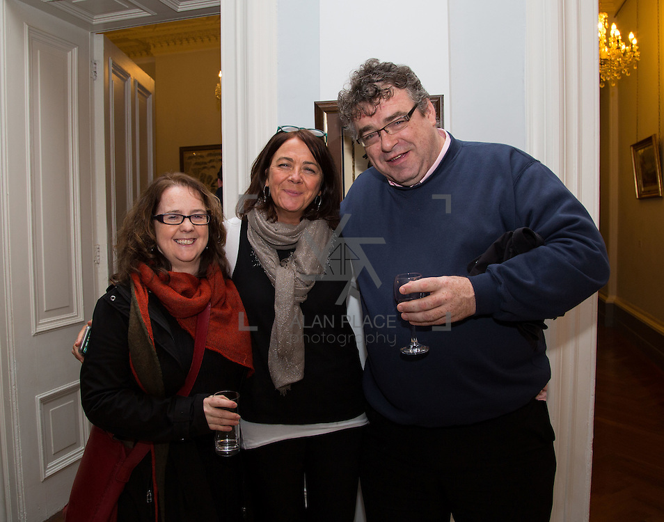 22.11.2016                   <br /> University of Limerick (UL) hosted a gala concert celebrating the music of renowned composer M&iacute;che&aacute;l &Oacute; S&uacute;illeabh&aacute;in.<br /> <br /> Pictured at a special reception before the concert were, Margaret O'Sullivan, Ellie Byrne and Niall Keegan.<br /> <br /> <br /> The RT&Eacute; Concert Orchestra, conducted by David Brophy, performed with M&iacute;che&aacute;l and a selection of special guests in University Concert Hall Limerick. Picture: Alan Place