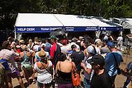 Expo & Check-In. 2013 Noosa Triathlon Festival. Noosa, Queensland, Australia. 02/11/2013. Photo By Lucas Wroe