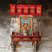 Traditional Kitchen God, Meinong Township, Kaohsiung County, Taiwan