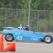 David Langston competes in Disorderly Coneduct Autox at Blackwater Sunday July 27, 2014 on the North Campus of Cape Fear Community College in Castle Hayne, N.C. (Jason A. Frizzelle)