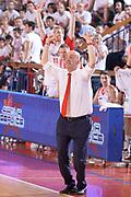 DESCRIZIONE : Reggio Emilia Lega A 2014-15 Grissin Bon Reggio Emilia - Banco di Sardegna Sassari playoff finale gara 7 <br /> GIOCATORE :Menetti Massimiliano<br /> CATEGORIA : Allenatore Coach Mani <br /> SQUADRA : GrissinBon Reggio Emilia<br /> EVENTO : LegaBasket Serie A Beko 2014/2015<br /> GARA : Grissin Bon Reggio Emilia - Banco di Sardegna Sassari playoff finale gara 7<br /> DATA : 26/06/2015 <br /> SPORT : Pallacanestro <br /> AUTORE : Agenzia Ciamillo-Castoria / Richard Morgano<br /> Galleria : Lega Basket A 2014-2015 Fotonotizia : Reggio Emilia Lega A 2014-15 Grissin Bon Reggio Emilia - Banco di Sardegna Sassari playoff finale gara7<br /> Predefinita :