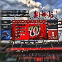 21 August 2012:  A 12 frame HDR image done at Nationals Park in Washington, D.C. where the Washington Nationals defeated the Atlanta Braves, 4-1.