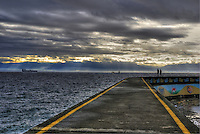 Breakwater, Ogden Point, Victoria, British Columbia, Canada