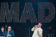 Madness play the Pyramid Stage - The 2016 Glastonbury Festival, Worthy Farm, Glastonbury.