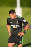 Aaron Smith at the Highlanders Super Rugby Training Session ahead of their match against the Crusaders on Saturday, University Oval, Dunedin, 22 May 2014. Photo: Derek Morrison/www.photosport.co.nz