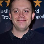 London, England, UK. 23 January 2018. Owen Jones Arrivers at Beginning - press night at Ambassadors Theatre.