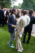 MATTHEW WILLIAMSON AND JESSICA DE ROTHSCHILD, Raisa Gorbachev Foundation Party, at the Stud House, Hampton Court Palace on June 7, 2008 in Richmond upon Thames, London,Event hosted by Geordie Greig and is in aid of the Raisa Gorbachev Foundation - an international fund fighting child cancer.  7 June 2008.  *** Local Caption *** -DO NOT ARCHIVE-© Copyright Photograph by Dafydd Jones. 248 Clapham Rd. London SW9 0PZ. Tel 0207 820 0771. www.dafjones.com.