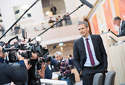 21.03.2018, Hofburg, Wien, AUT, Parlament, Sitzung des Nationalrates mit Budgetrede des Finanzministers für das Doppelbudget 2018 und 2019, im Bild Finanzminister Hartwig Löger (ÖVP) // Austrian Minister for Finance Hartwig Loeger during meeting of the National Council of austria with the presentation of the Austrian government budget for 2018 and 2019 at Hofburg palace in Vienna, Austria on 2018/03/21, EXPA Pictures © 2018, PhotoCredit: EXPA/ Michael Gruber