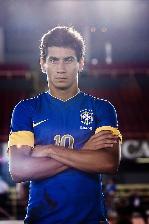 Sao Paulo, Brazil, Thursday - February 16, 2012: Paulo Henrique Ganso, Brazilian football team player, during a Nike advertisement filmmaking in Sao Paulo - Brazil. (photo: Caio Guatelli)