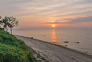 Long Island Sound, Sunset, BREEZE HILL FARM & PRESERVE.PECONIC, Long Island, New York