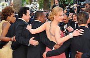 """24.MAY.2012. CANNES<br /> <br /> NICOLE KIDMAN, ZAC EFRON, MACY GREY AND LEE DANIELS ATTEND THE """"PAPERBOY"""" FILM PREMIERE AT THE 2012 CANNES FILM FESTIVAL.<br /> <br /> BYLINE: EDBIMAGEARCHIVE.CO.UK<br /> <br /> *THIS IMAGE IS STRICTLY FOR UK NEWSPAPERS AND MAGAZINES ONLY*<br /> *FOR WORLD WIDE SALES AND WEB USE PLEASE CONTACT EDBIMAGEARCHIVE - 0208 954 5968*"""