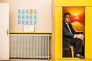 19052016. Paris. Super public, lieu dédié à la transformation de l'action publique. Portrait de Jean-Paul DELEVOYE pour M le magazine du Monde.