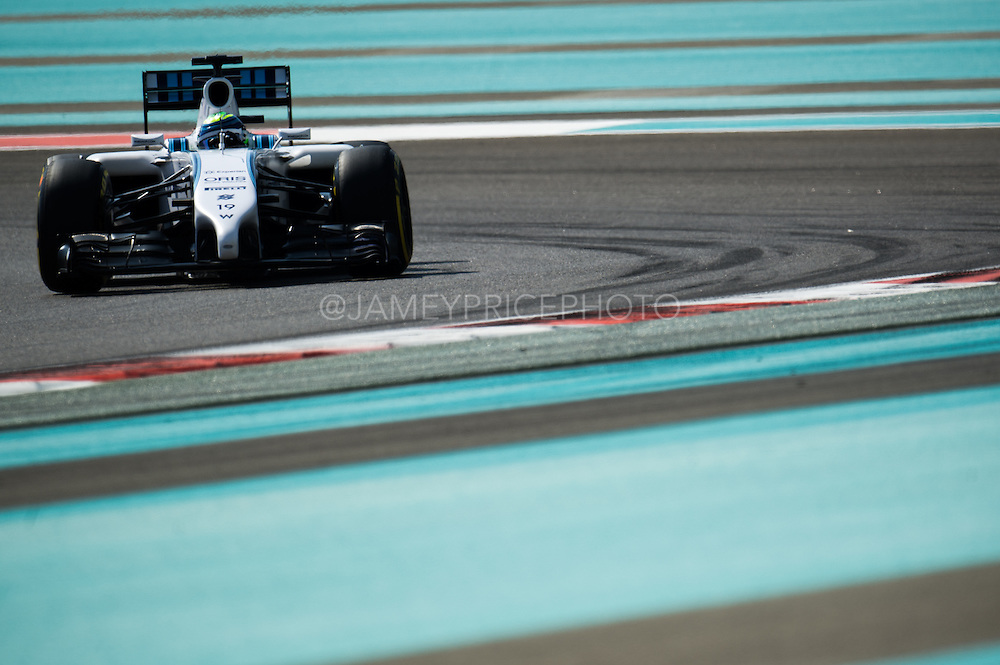 November 21-23, 2014 : Abu Dhabi Grand Prix. Felipe Massa (BRA), Williams Martini Racing