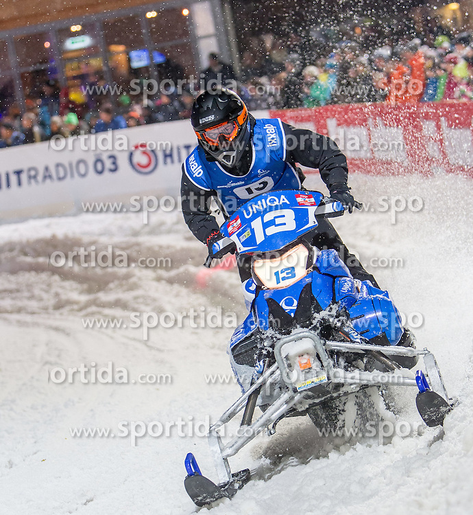 07.12.2014, Saalbach Hinterglemm, AUT, Snow Mobile, im Bild UNIQA Fresacher Racing Team // during the Snow Mobile Event at Saalbach Hinterglemm, Austria on 2014/12/07. EXPA Pictures © 2014, PhotoCredit: EXPA/ JFK