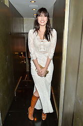 DAISY LOWE at a party to celebrate the UK launch of French fashion label ba&sh at The Arts Club, Dover Street, London on 15th March 2016.