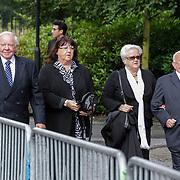 NLD/Leusden/20120920- Uitvaart Joop van Tellingen, Bassie & Adriaan, Adriaan van Toor en partner, Bas van Toor en partner