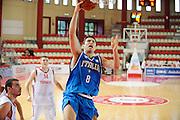 DESCRIZIONE : Teramo Giochi del Mediterraneo 2009 Mediterranean Games Italia Turchia Italy Turkey Preliminary Men<br /> GIOCATORE : Daniele Cinciarini<br /> SQUADRA : Nazionale Italiana Maschile<br /> EVENTO : Teramo Giochi del Mediterraneo 2009<br /> GARA : Italia Turchia Italy Turkey<br /> DATA : 30/06/2009<br /> CATEGORIA : tiro<br /> SPORT : Pallacanestro<br /> AUTORE : Agenzia Ciamillo-Castoria/G.Ciamillo