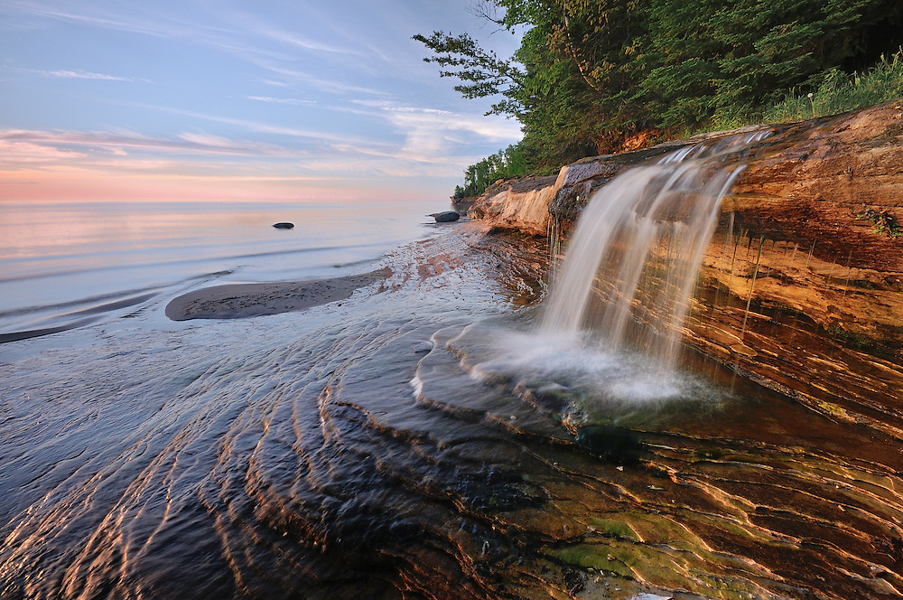 Elliot Falls <br />