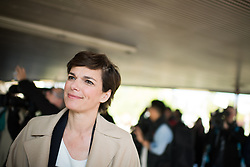 "18.04.2019, Schottentor, Wien, AUT, SPÖ, Fotoaktion mit dem Titel ""KarFREItag für alle"". im Bild SPÖ-Klubobfrau Pamela Rendi-Wagner // Party whip of the Austrian Social Democratic Party (SPOe) Pamela Rendi-Wagner during photo opportunity due to easter of the austrian social democratic party in Vienna, Austria on 2019/04/18. EXPA Pictures © 2019, PhotoCredit: EXPA/ Michael Gruber"