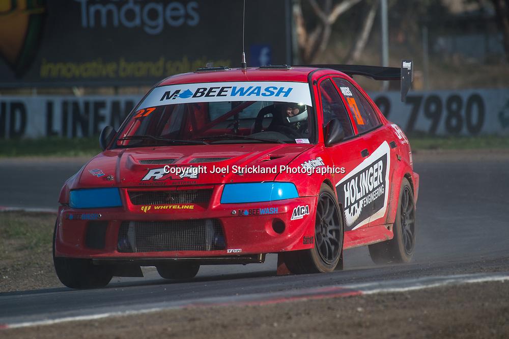 Will Orders - Mitsubishi RXEvo - Rallycross Australia - Winton Raceway - 16th July 2017