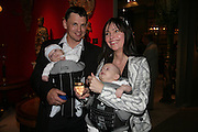 Christine and Stuart Price with James and Phoebe, Private Preview of the Grosvenor House Art and Antiques Fair. 13 June 2007.  -DO NOT ARCHIVE-© Copyright Photograph by Dafydd Jones. 248 Clapham Rd. London SW9 0PZ. Tel 0207 820 0771. www.dafjones.com.