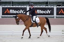 Sophie Christiansen, (GBR), Janeiro 6 - Team Competition Grade Ia Para Dressage - Alltech FEI World Equestrian Games™ 2014 - Normandy, France.<br /> © Hippo Foto Team - Jon Stroud <br /> 25/06/14