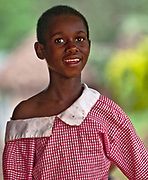 Beautiful girl from Bwindi, Uganda.