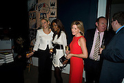 EMILY MAITLES; PHOEBE VELA; ANDREA CATHERWOOD; ANDREW NEIL; , Master and Commanders by Andrew Roberts book launch. Sotheby's Bond Street . London. 13 October 2008 *** Local Caption *** -DO NOT ARCHIVE -Copyright Photograph by Dafydd Jones. 248 Clapham Rd. London SW9 0PZ. Tel 0207 820 0771. www.dafjones.com