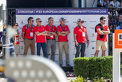 Fuchs Martin, SUI, Clooney 51<br /> European Championship Dressage<br /> Rotterdam 2019<br /> © Hippo Foto - Stefan Lafrentz