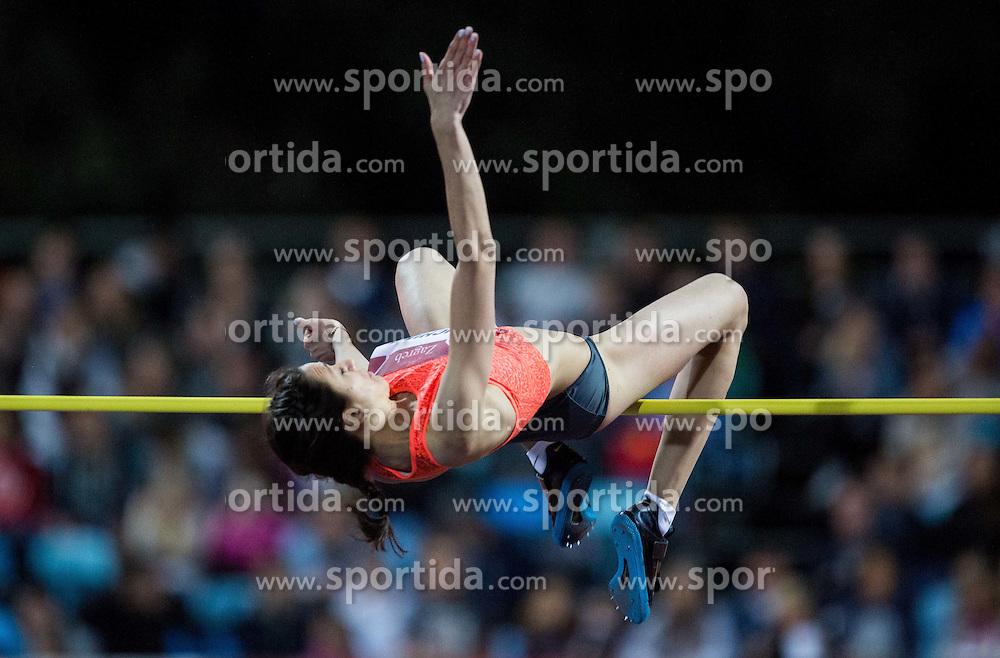 Mariya Kuchina of Russia competes in High Jump Women  during IAAF World Challenge Zagreb - The 65th Hanzekovic Memorial Meeting, on September 8, 2015, in Stadium Mladost, Zagreb, Croatia. Photo by Vid Ponikvar / Sportida