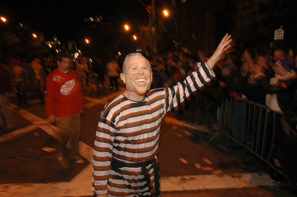 George Bush Prisoner auf der 6th Avenue