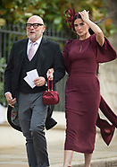 Celeb Guests At Princess Eugenie Wedding