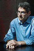 London, UK, May 3 2018 - Portrait of Jonathan Haskel, professor of Economics at Imperial College Business School.
