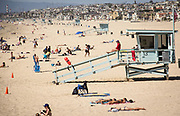 Manhattan Beach During Summer
