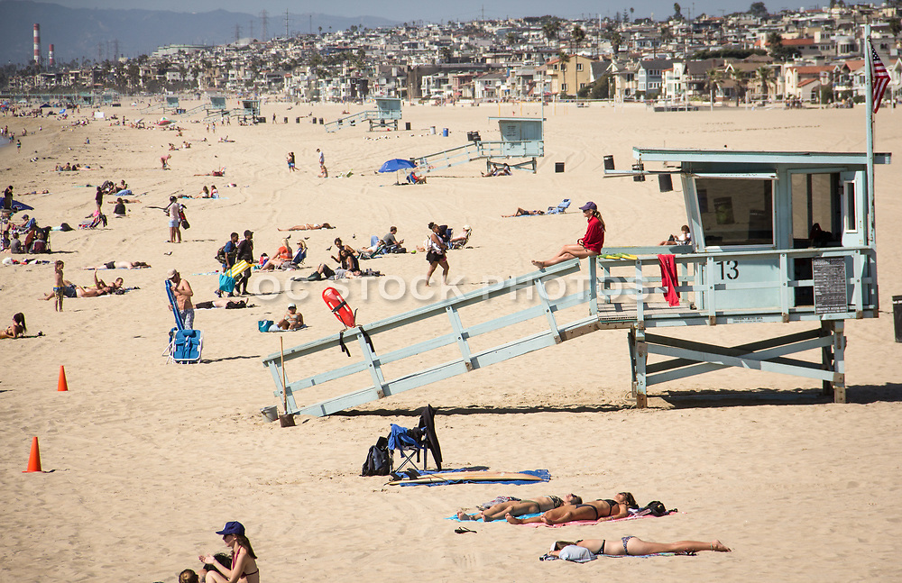 Manhattan Beach During Summer