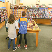 Elena Delle Donne signing her books for fans Saturday, March 10, 2018, at Barnes and Noble in Wilmington Delaware.
