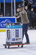 KELOWNA, CANADA - JANUARY 30:  Trail Appliances at the Kelowna Rockets game on January 30, 2018 at Prospera Place in Kelowna, British Columbia, Canada.  (Photo By Cindy Rogers/Nyasa Photography,  *** Local Caption ***