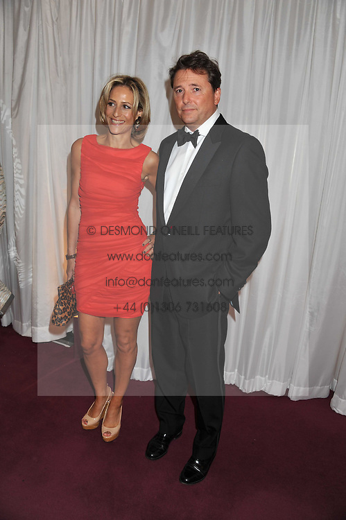 EMILY MAITLIS and her husband MARK GWYNNE at the GQ Men of the Year 2011 Awards dinner held at The Royal Opera House, Covent Garden, London on 6th September 2011.