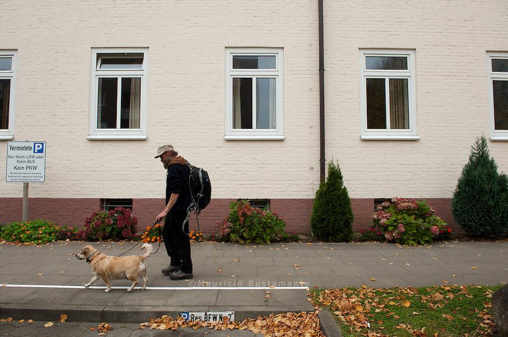 Einzelzimmer mit HUND: Fritz und Paula<br /> wohnen im Winterquartier von Hinz&amp;Kunzt.