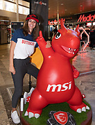 Media Markt, Utrecht. MSI Game Event. Op de foto: Royal Puck