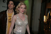 , Adam Garcia and  Helen Dallimore, Cast change for Wicked. Apollo Victoria theatre. After party at Park Plaza Victoria. 12 April 2007.  -DO NOT ARCHIVE-© Copyright Photograph by Dafydd Jones. 248 Clapham Rd. London SW9 0PZ. Tel 0207 820 0771. www.dafjones.com.