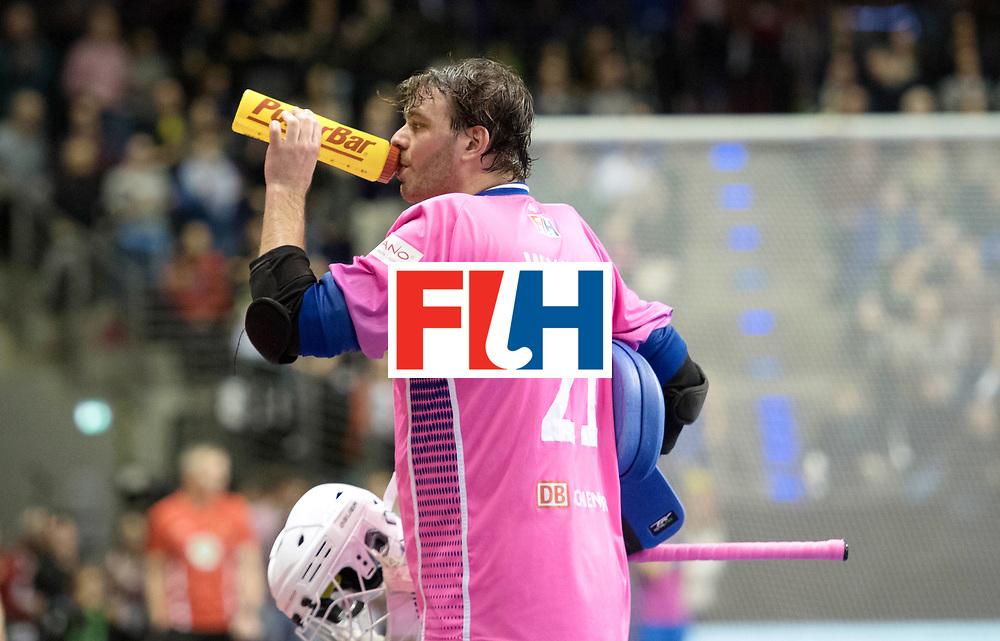 BERLIN - Indoor Hockey World Cup<br /> Final: Germany - Austria<br /> foto: Tobias Walter (GK)  <br /> WORLDSPORTPICS COPYRIGHT FRANK UIJLENBROEK