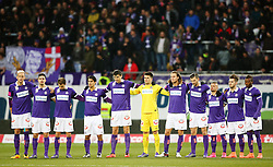 14.02.2016, Generali Arena, Wien, AUT, 1. FBL, FK Austria Wien vs SK Rapid Wien, 22. Runde, im Bild Trauerminute für Trifon Ivanov // during Austrian Football Bundesliga Match, 22nd Round, between FK Austria Vienna and SK Rapid Vienna at the Generali Arena, Vienna, Austria on 2016/02/14. EXPA Pictures © 2016, PhotoCredit: EXPA/ Thomas Haumer