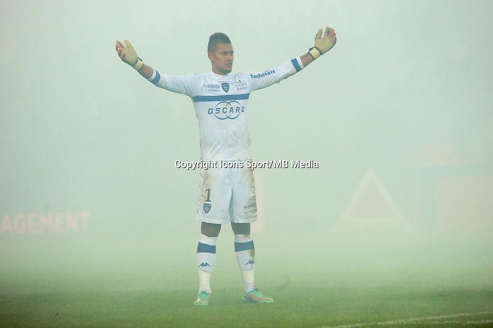 Alphone AREOLA - 05.12.2014 - Saint Etienne / Bastia - 17eme journee de Ligue 1 -<br />Photo : Jean Paul Thomas / Icon Sport